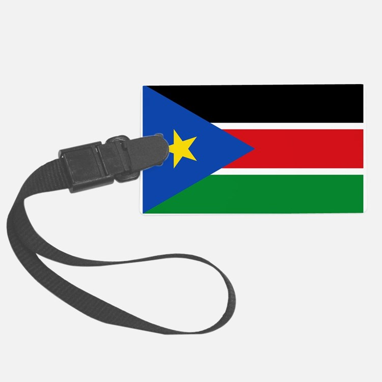 South Sudan Flag Luggage Tag