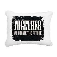 future create together Rectangular Canvas Pillow