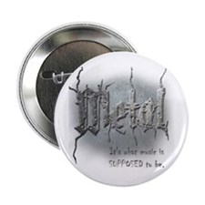 """Metal 2.25"""" Button (10 pack)"""