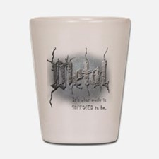 Metal Shot Glass