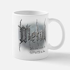 Metal Small Small Mug