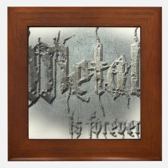 Metal 2 Framed Tile
