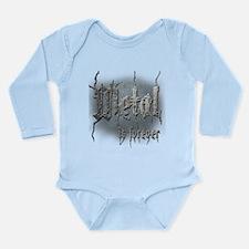 Metal 2 Long Sleeve Infant Bodysuit