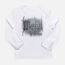 Metal 2 Long Sleeve Infant T-Shirt
