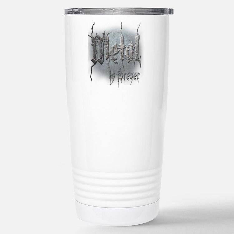 Metal 2 Thermos Mug