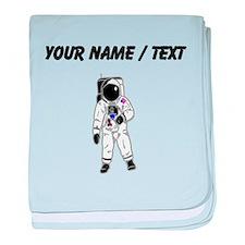 Spacesuit (Custom) baby blanket