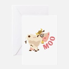 Moo Greeting Cards