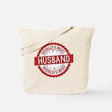 World's Best Husband Tote Bag