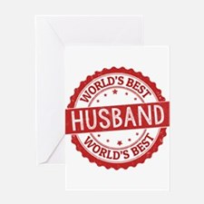 World's Best Husband Greeting Cards