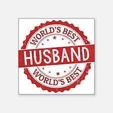 World's Best Husband Sticker