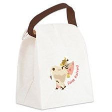 Farm Raised Canvas Lunch Bag