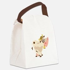 Happy To Help Canvas Lunch Bag