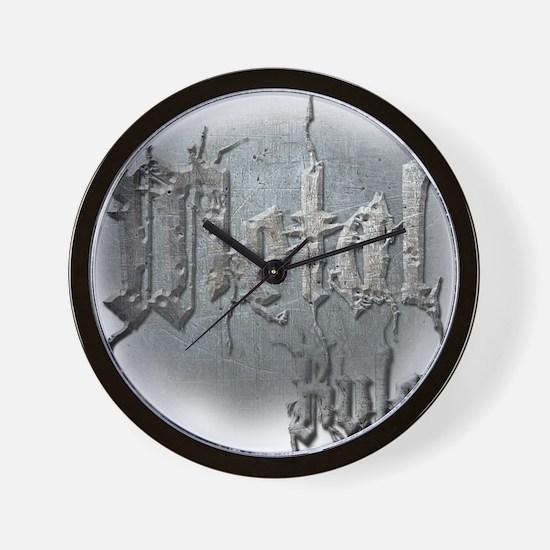 Metal3 Wall Clock