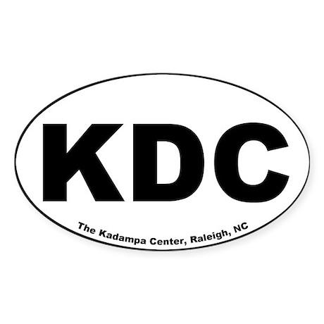 Kadampa Center Oval Sticker