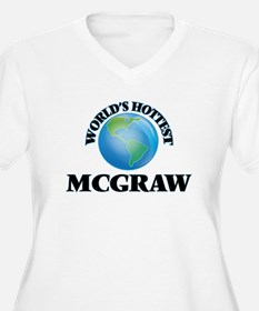 World's hottest Mcgraw Plus Size T-Shirt