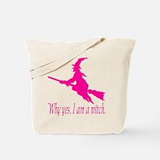 Pink I am Tote Bag