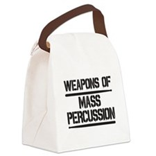 Weapons of Mass Percussion Canvas Lunch Bag