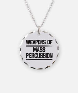 Weapons of Mass Percussion Necklace