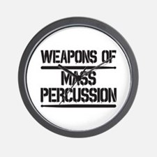 Weapons of Mass Percussion Wall Clock