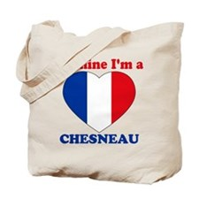 Chesneau, Valentine's Day Tote Bag