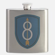 8th Infantry Division Flask