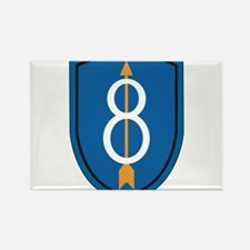 8th Infantry Division Magnets