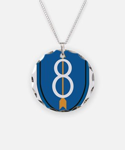 8th Infantry Division Necklace