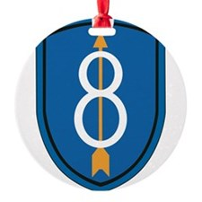 8th Infantry Division Ornament
