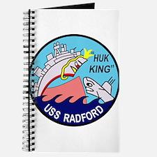 DD-446 USS Radford US NAVY Destroyer Milit Journal