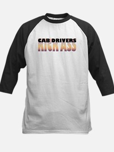 Cab Drivers Kick Ass Kids Baseball Jersey