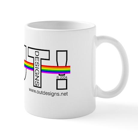 OUT!Designs Logo-Mug