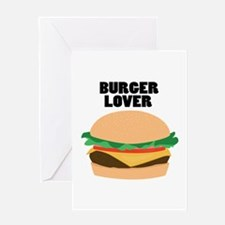 Burger Lover Greeting Cards