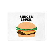 Burger Lover 5'x7'Area Rug