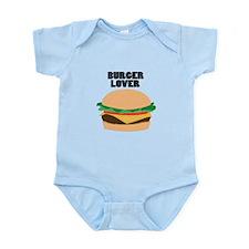 Burger Lover Body Suit