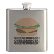 Cheeseburger Flask