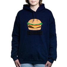 Cheeseburger Women's Hooded Sweatshirt