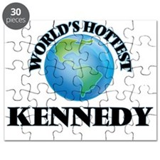 World's hottest Kennedy Puzzle