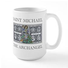 Large Saint Michael Mug