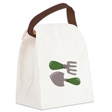 Garden Tools Canvas Lunch Bag