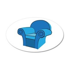 Arm Chair Wall Decal