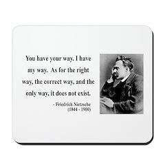Nietzsche 1 Mousepad