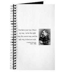 Nietzsche 1 Journal
