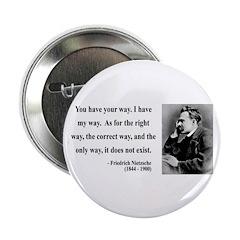 """Nietzsche 1 2.25"""" Button (10 pack)"""