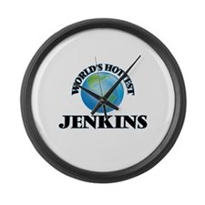 World's hottest Jenkins Large Wall Clock