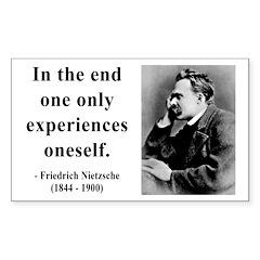Nietzsche 2 Rectangle Sticker