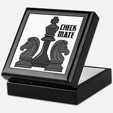 Check Mate Keepsake Box