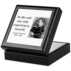 Nietzsche 2 Keepsake Box