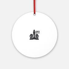 Chess Master Ornament (Round)