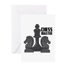 Chess Master Greeting Cards