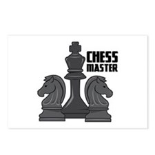 Chess Master Postcards (Package of 8)